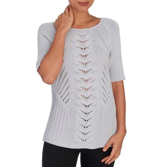 4cae4c3f1e4 Andrea Jovine Sweaters - Andrea Jovine Raglan Crewneck Pullover Sweater